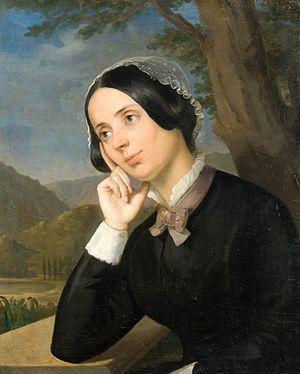 Maria Rosetti - Constantin Daniel Rosenthal's portrait of Maria Rosetti