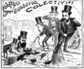 Constantin Jiquidi - Marele colector colectivist, Epoca Supliment Ilustrat, 16 ian 1889.png