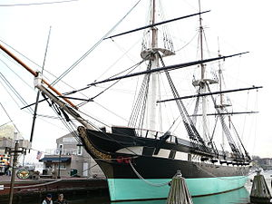 USS Constellation (1854) - Constellation in 2012