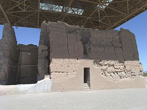 Eusebio Kino - Written historic accounts of the Casa Grande in Coolidge, Arizona, begin with the journal entries of Padre Eusebio Francisco Kino when he visited the ruins in 1694.