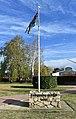 Cooma Aviation Pioneers Memorial Flagpole.JPG