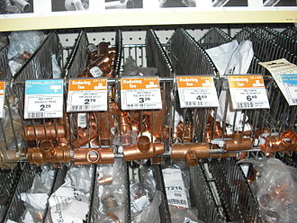 Canadian Tire - Copper Pipe Pieces