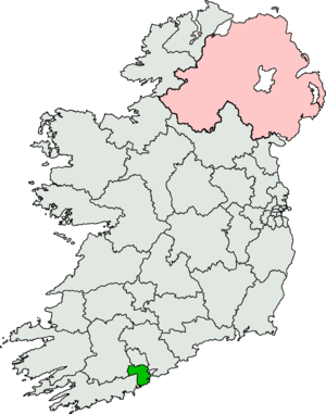 Cork South-Central (Dáil Éireann constituency) - Image: Cork South Central (Dáil Éireann constituency)