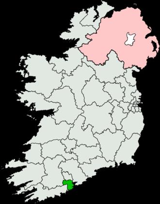 Cork South-Central (Dáil Éireann constituency) - Image: Cork South Central (Dáil Éireann constituency)