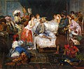 Cormon Fernand Le harem Oil On Canvas.jpg