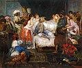 Cormon Fernand Le harem Oil On Canvas.jpg