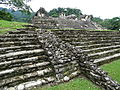 Corner View of The Palace - Palenque Archaeological Site - Chiapas - Mexico (15491939967).jpg
