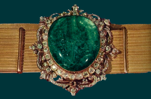 Golden Belt - Emerald is visible at the center of golden belt