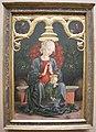 Cosmè tura, madonna col bambino in un giardino, 1433-95.JPG