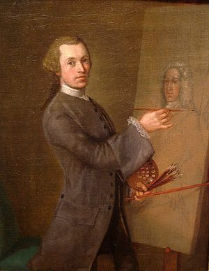 Cosmo Alexander - Self-portrait, 1749