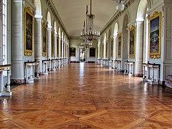 La galerie des Cotelles - az 52 méter hosszú és 7 méter széles terem, ahol az aláírás megtörtént