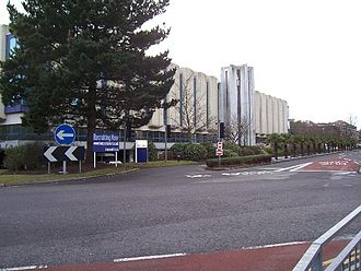County Gates - The LV offices at the centre of the County Gates gyratory