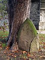 Cracked Gravestone at St Mary's Church - geograph.org.uk - 1529816.jpg