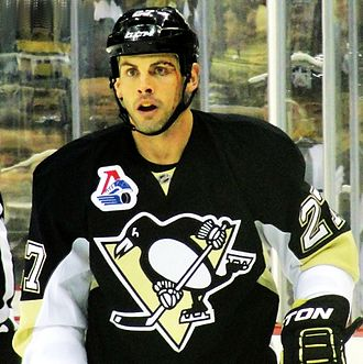 Craig Adams (ice hockey) - Adams with the Penguins in 2011.