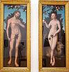 Cranach, Lucas (I) - Adam u Eva - Museum der bildenden Künste Leipzig.jpg