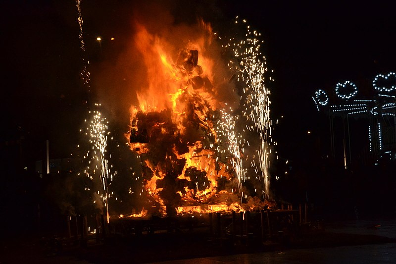 Cremacion de Sent Pançard - Carnaval Biarnés 2015
