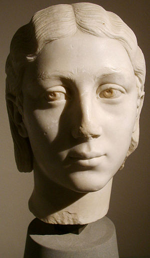 Women in ancient Rome - Bust of a Roman girl, early 3rd century