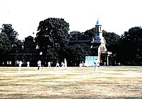 Cricket on Kew Green (1986) - geograph.org.uk - 871531.jpg