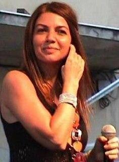 Italian singer and actress