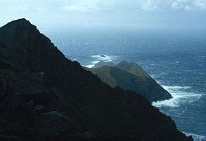 Croaghaun - Cliffs of Croaghaun, looking towards Achill Head
