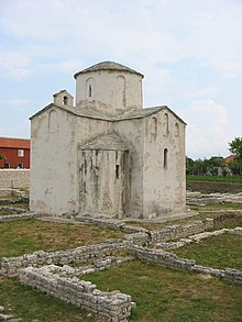 Croatia, Nin, church.JPG