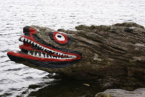 Great Cumbrae - Crocodile Rock, Millport
