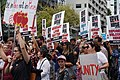 Crowd of protesters at the Stand Against Racism protest in Auckland city, Sunday 24 March 2019.jpg