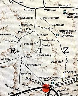 Santa Fe, Prescott and Phoenix Railway