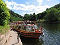 Cruise Boat at the Quay at Symonds Yat - geograph.org.uk - 1003.jpg