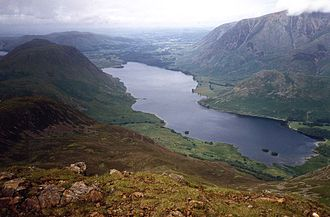 Crummock Water - Crummock Water from Red Pike