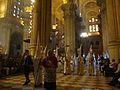 Cruz guía del Ecce Homo entrando en la Catedral de Málaga (4470967403).jpg