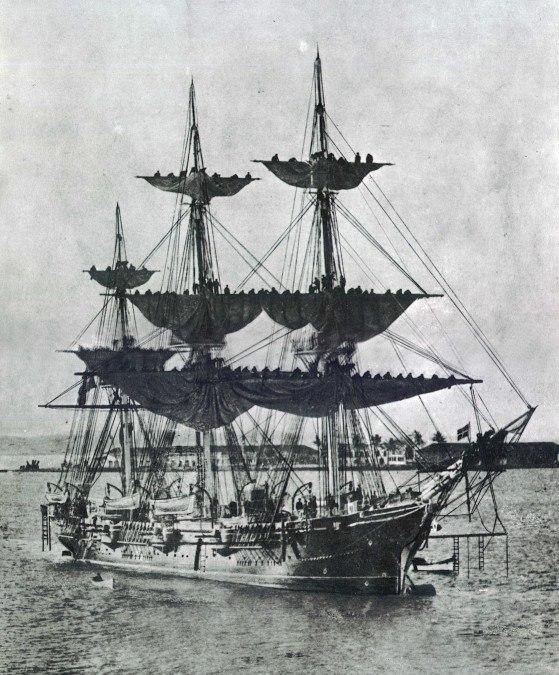 Cruzador Almirante Barroso 1