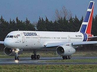 Tupolev Tu-204 -  A Cubana Tupolev 204E in 2007.