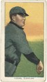Cy Young, Cleveland Naps, baseball card portrait LCCN2008676577.tif