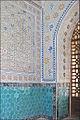 Décors de la mosquée Kok Goumbaz (Shahrisabz) (6021706254).jpg