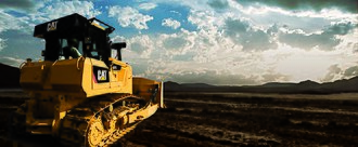 Caterpillar D7 - The new Cat D7E with Electric Drive