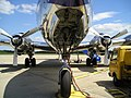 DC-6B nose landing gear.JPG