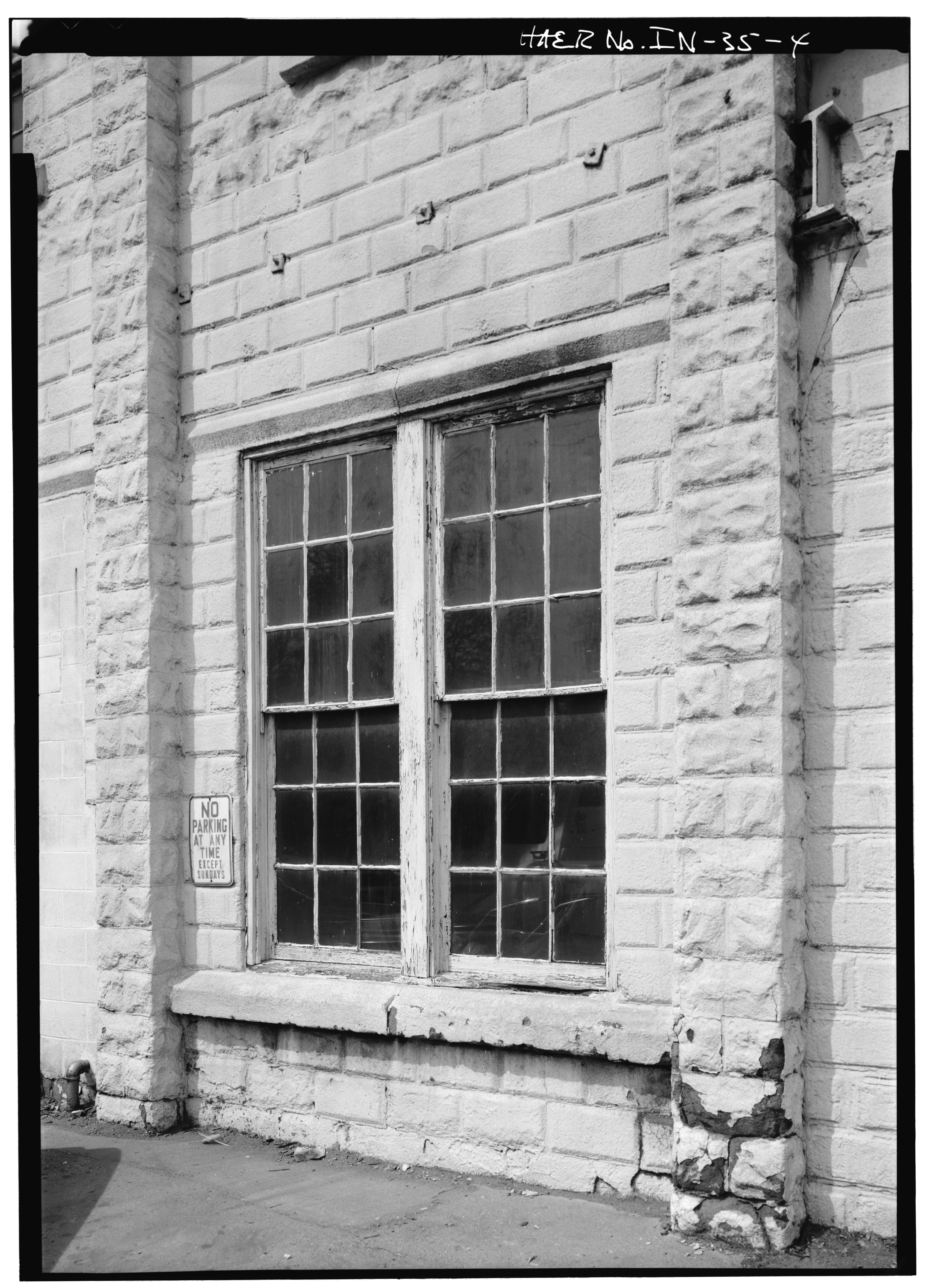 File detail view of typical window east side buckeye for Wisconsin window manufacturers