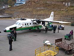 Dornier 228 von Tara Air in Lukla