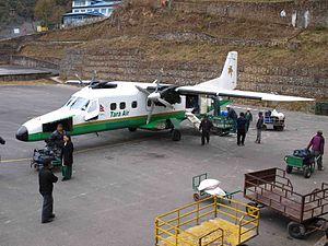 Tenzing–Hillary Airport - Tara Air Do 228 at Tenzing–Hillary Airport
