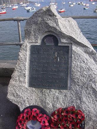 Falmouth, Cornwall - Nazaire memorial