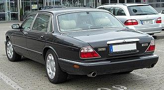 Jaguar XJ (X308) - Rear of a Daimler Super V8