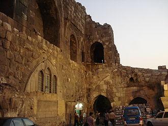 Citadel of Damascus - Image: Damascus citadel