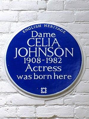 Celia Johnson - Blue Plaque for Dame Celia Johnson