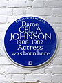 Dame CELIA JOHNSON 1908-1982 Actress was born here.jpg