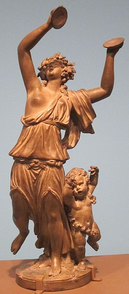 File:Dancing Bacchante with Amour, terracotta sculpture by Claude Michel, 1785, HAA.jpg