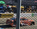 Daniel Suárez in the number 19 Arris Toyota at the First Data 500.jpg