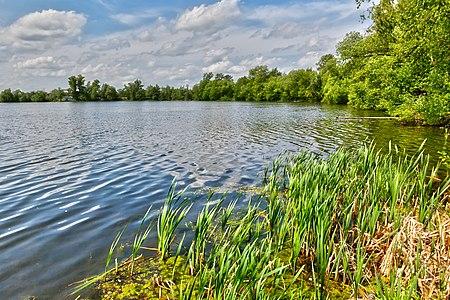 View to the Danilishe lake