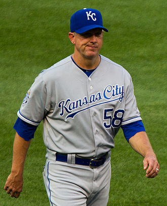 Dave Eiland - Eiland with the Kansas City Royals