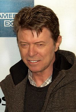 David Bowie op het Tribeca Film Festval in 2009